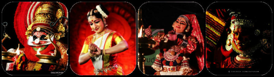 Relish the traditional art forms of Kerala